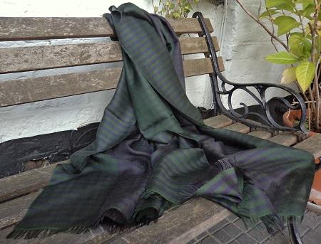 Pashmina Cashmere & Silk Lightweight Large Scarf :Olive Zanzibar