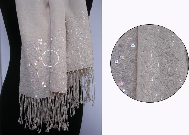 Pashmina Cashmere & Silk  Shawl Style A08